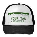 Custom Colorado License Plate Trucker Hat
