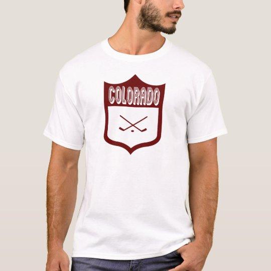 Custom Colorado Shield Design2 T-Shirt