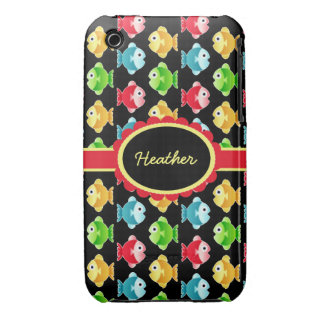 Custom Colorful Fish Case-Mate iPhone 3G/3GS iPhone 3 Covers