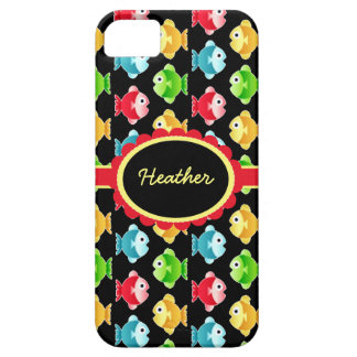 Custom Colorful Fish iPhone 5 Barely There Case