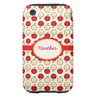 Custom Colorful Red Apples iPhone 3G/3GS Case