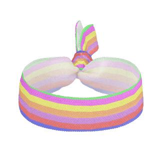 Custom Colorful Stripes Hair Tie Elastic Hair Ties