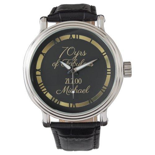 Custom Commemorative Watch – man woman kids