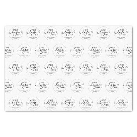 Custom Company Business Personal Logo Branding Tissue Paper