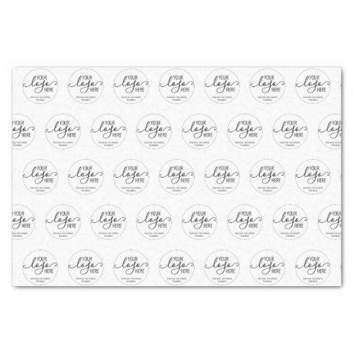 Custom Company Business Personal Logo Branding Tissue Paper