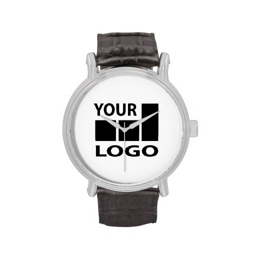 custom company color and logo watches zazzle