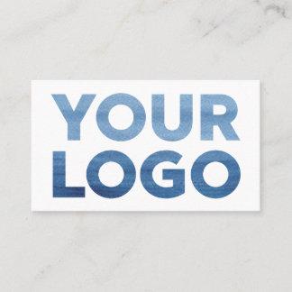 Custom Company Logo and Contact Info Business Card
