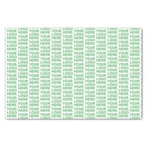 Custom company logo brand pattern tissue paper