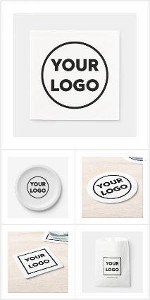 Custom Company Logo Business Event Supplies