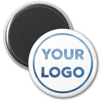 Custom Company Logo Corporate Swag Magnet
