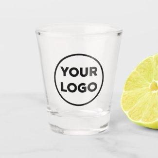 Custom Company Logo Corporate Swag Shot Glass