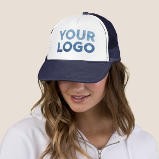 Custom Company Logo Corporate Swag Trucker Hat