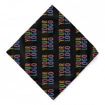 Custom Company Logo Polyester Bandana No Minimum