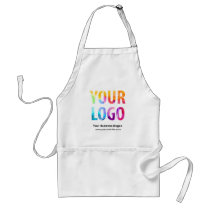Custom Company Logo Promotional Uniform Adult Apron