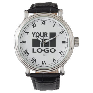 Custom Company Logo Roman Numeral Watches