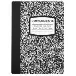 Custom Composition Book Black/White School/Teacher Clipboard