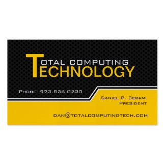 Custom Computer Technician Business Card