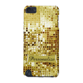 Custom Cool Gold Sequins Look Ipod Touch Case