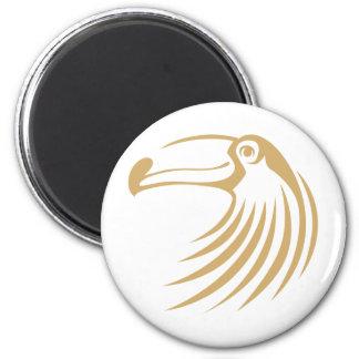 Custom Cool Toucan Bird Logo Magnet