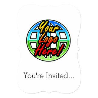 Custom Corporate or Promotional Imprinted Logo Card