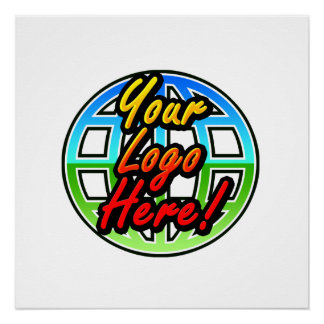 Custom Corporate or Promotional Imprinted Logo Poster
