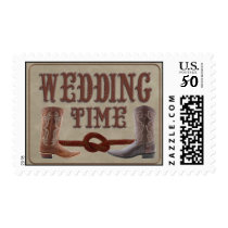 Custom Cowboy Boot wedding stamps