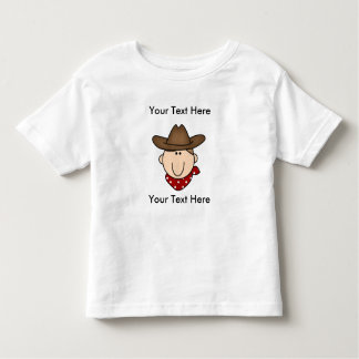 Custom Cowboy Brown T-Shirt