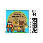 Custom Cowboy Hoedown Postage Stamps
