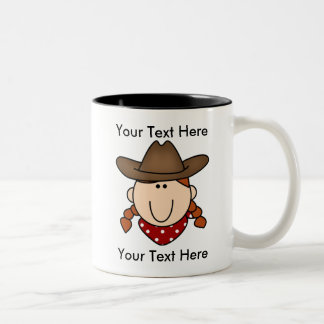 Custom Cowgirl Red Mug - Customizable