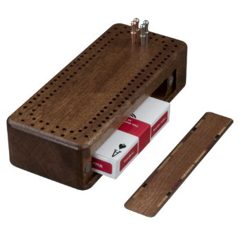 Custom Cribbage Board With Your Custom Image by CREATIVESPORTS at Zazzle