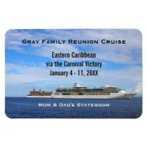 Custom Cruise Cabin Door Marker | Cruise Ships Magnet