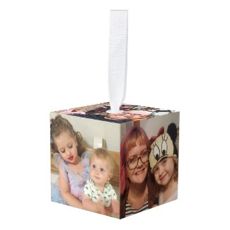 Custom Cube Family Photos Christmas