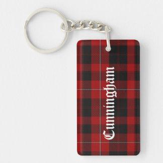 Custom Cunningham Tartan Plaid Key Chain