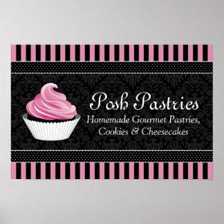 CUSTOM Cupcake Bakery Business Poster