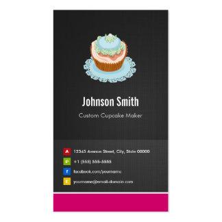 Custom Cupcake Maker - Creative Innovative Business Card Templates