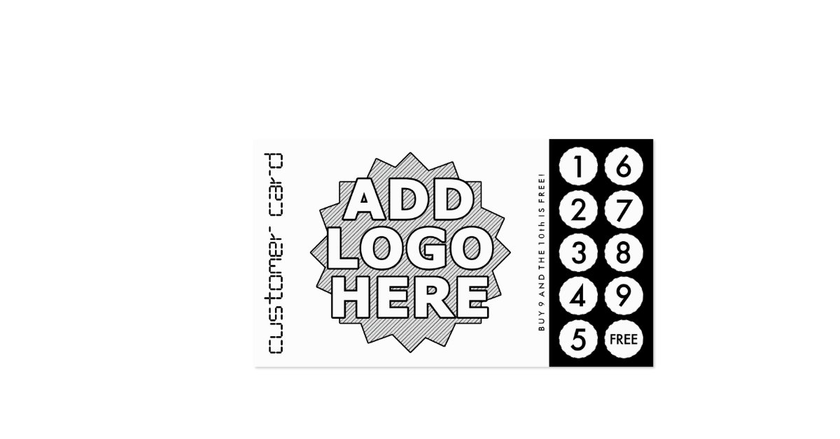 Custom Cut Out Punch Cards Double-Sided Standard Business Cards (Pack Of 100)