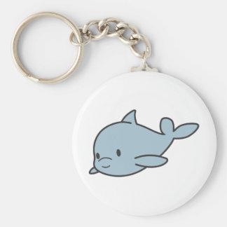 Custom Cute Baby Dolphin Cartoon Keychain