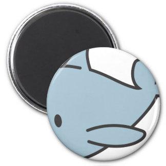 Custom Cute Baby Dolphin Cartoon Magnet