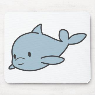 Custom Cute Baby Dolphin Cartoon Mouse Pad