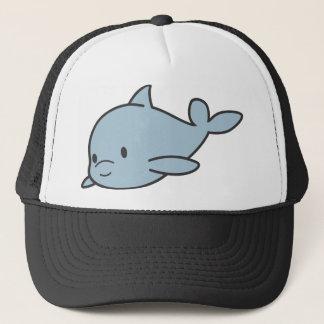 Custom Cute Baby Dolphin Cartoon Trucker Hat