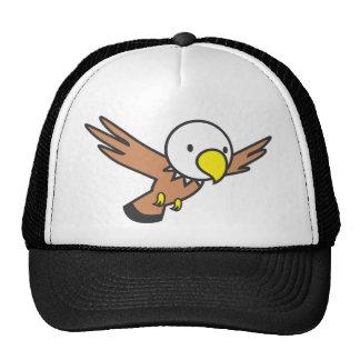 Custom Cute Eagle Cartoon Logo Trucker Hat