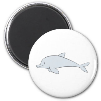 Custom Cute Swimming Dolphin Cartoon Magnet