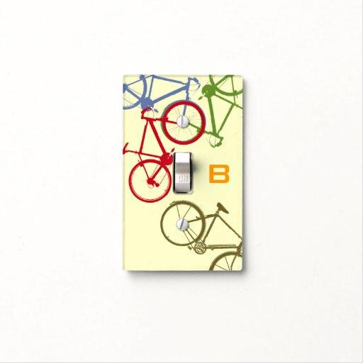 Custom Cycling Sport Bike Decor Light Switch Cover Zazzle