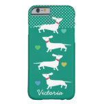 Custom Dachshund iPhone case Barely There iPhone 6 Case