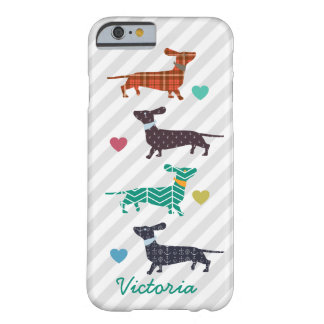 Custom Dachshund iPhone case