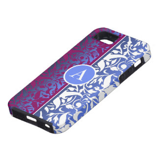 custom damask iPhone 5 cases