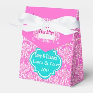 Custom Damask Pattern Wedding Favor Gift Box Favor Box