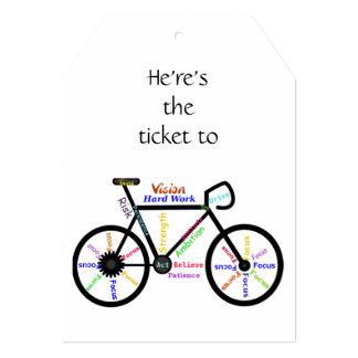 Custom Dated Birthday Party Bike Sport Male Card