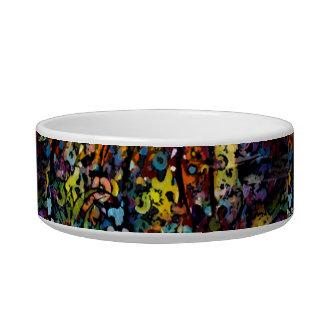 Custom Decorative Art pet food bowl