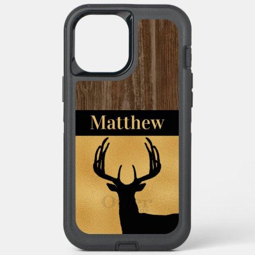 Custom Deer Hunting Rustic Phone Case